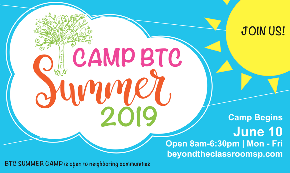 Beyond the Classroom Summer Camp 2019